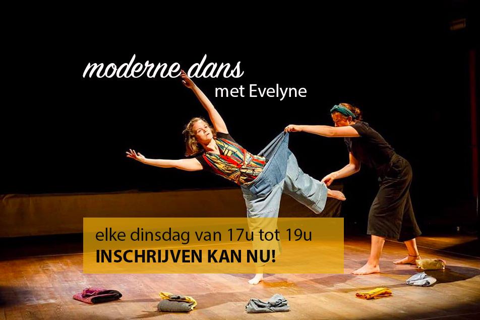 Moderne dans met Evelyne. Inschrijven kan nu!